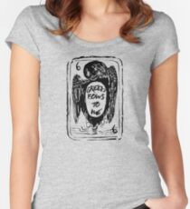 Greed Bows to Me Women's Fitted Scoop T-Shirt