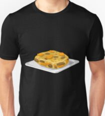 Glitch Food bubble and squeak Unisex T-Shirt