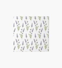 lavender pattern Art Board
