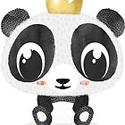 PANDA KING [STICKERS] by mfpowerbabes