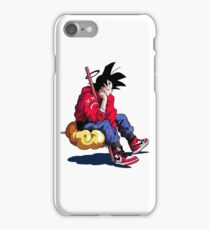 goku style iPhone Case/Skin