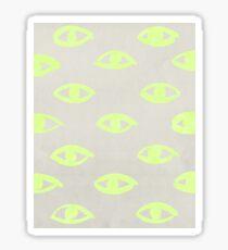natural neon (eyes) Sticker