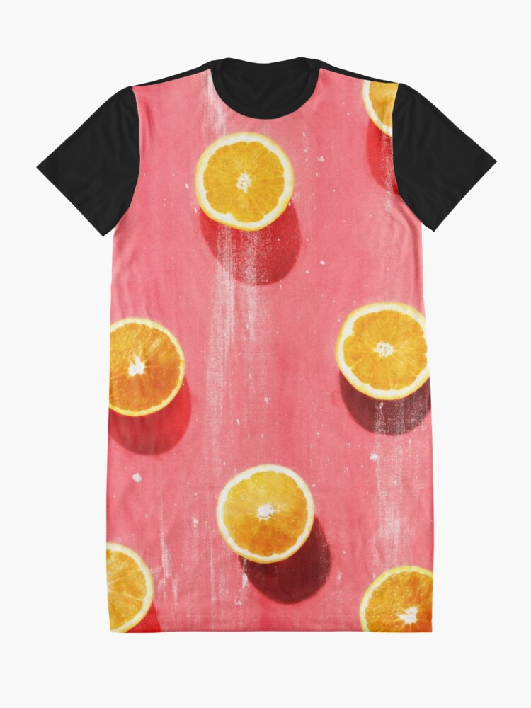 Alternate view of fruit 5 Graphic T-Shirt Dress