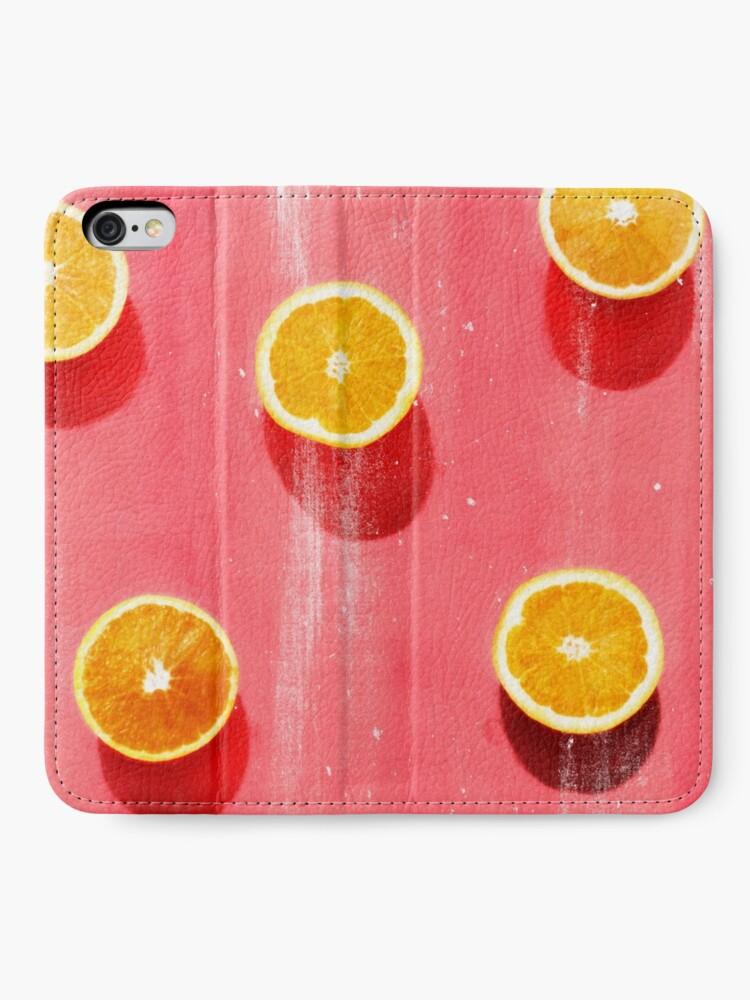 Alternate view of fruit 5 iPhone Wallet