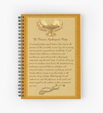 The Florence Nightingale Pledge Spiral Notebook