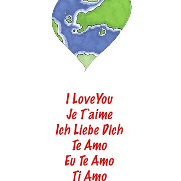 Valentine's Cards: Heart World by MADEBYCATHERINE