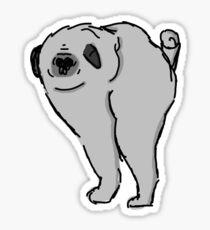 Smop the Dog Sticker