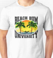 Beach Bum Universität Slim Fit T-Shirt
