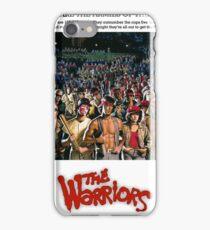 The Warriors iPhone Case/Skin