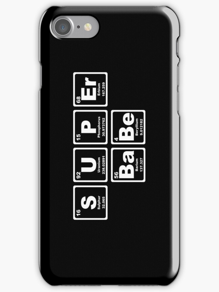 Super Babe - Periodic Table by graphix