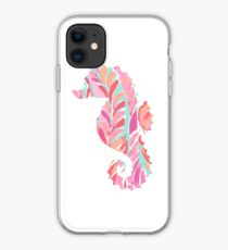 Lilly Seahorse iPhone Case