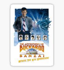 Buckaroo Banzai Sticker