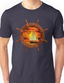 Sailboat Sunset Unisex T-Shirt