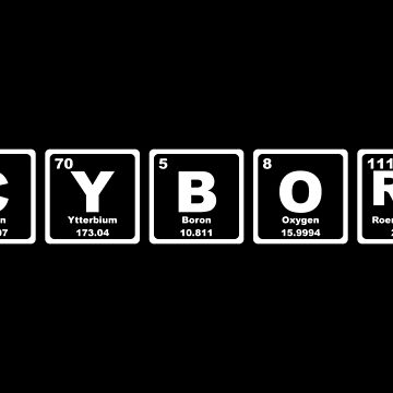Cyborg - Periodic Table by graphix