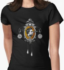 The Watchmaker (black version) Womens Fitted T-Shirt