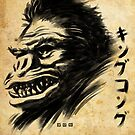 Waterbrushed Giant Ape by cs3ink