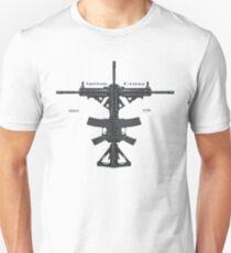 Americans cross since 1776, t-shirt Unisex T-Shirt