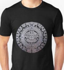 Modern Aztec Sun Stone Unisex T-Shirt