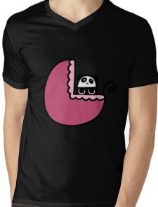 Baby Panda Mens V-Neck T-Shirt