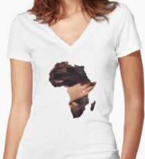 Toto Africa Women's Fitted V-Neck T-Shirt