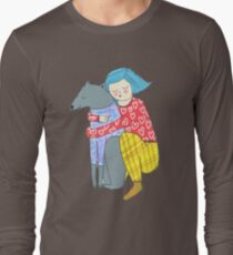 Girl and her dog T-Shirt