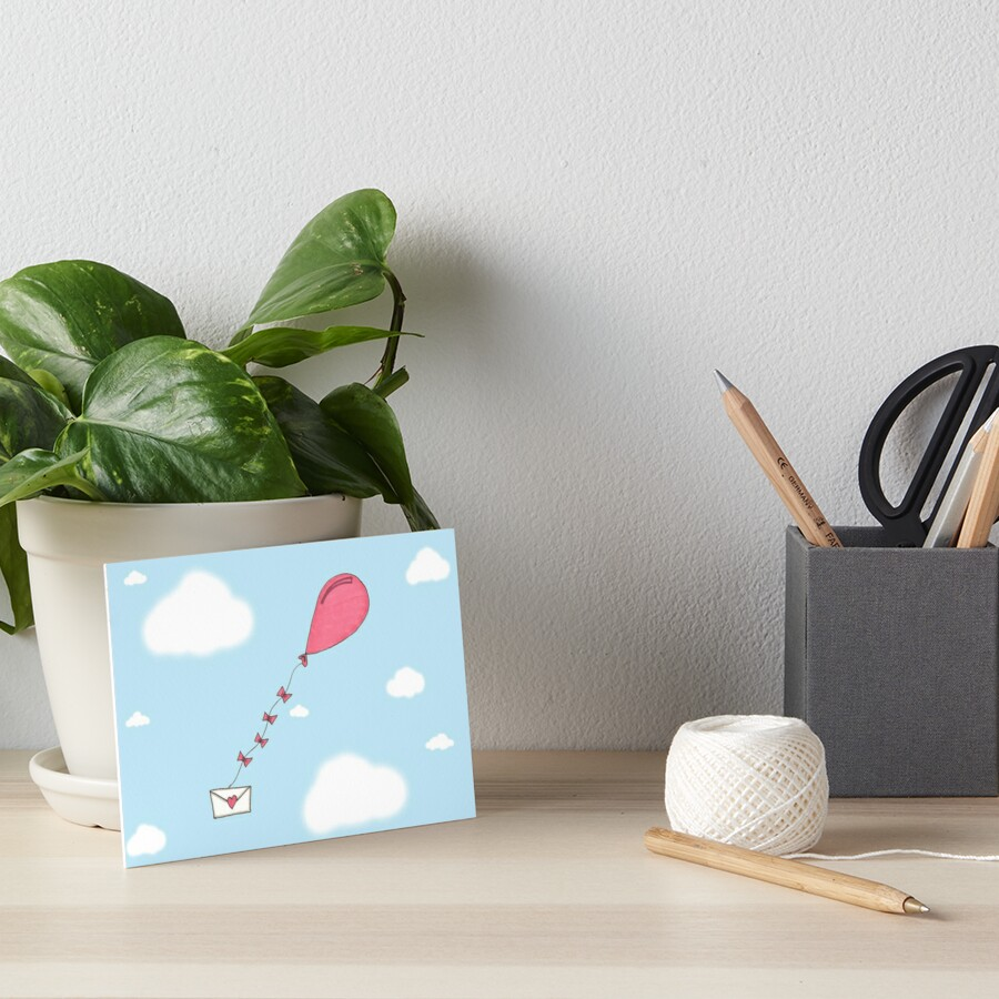 Valentine's Cards: Balloon Delivery by Catherine Stephenson