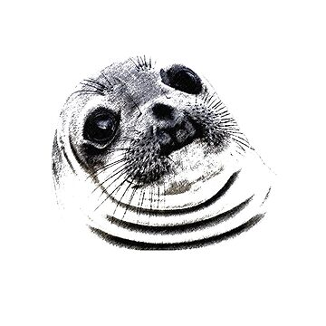 9GAG - Awkward moment seal - Sketch by APLC