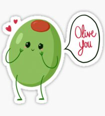 Olive you! #digistickie Sticker