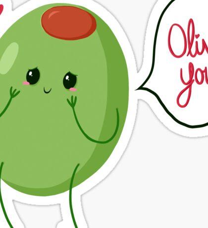 Olive you! #digistickie Sticker