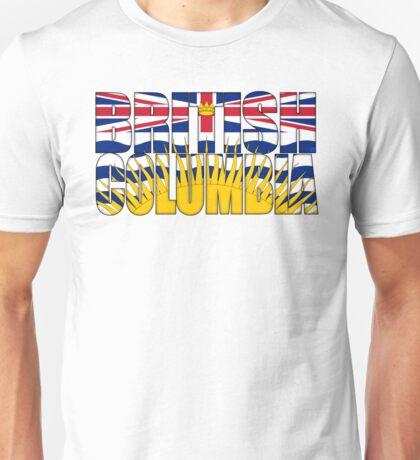 British Columbia Flag Unisex T-Shirt