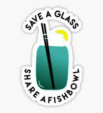 Save A Glass Sticker