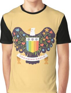 Dreaming (not Screaming) Eagle T-shirt Graphique
