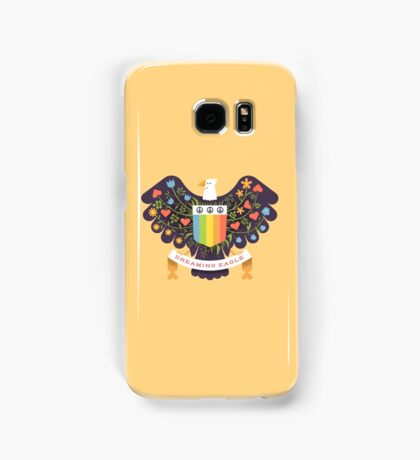 Dreaming (not Screaming) Eagle Samsung Galaxy Case/Skin