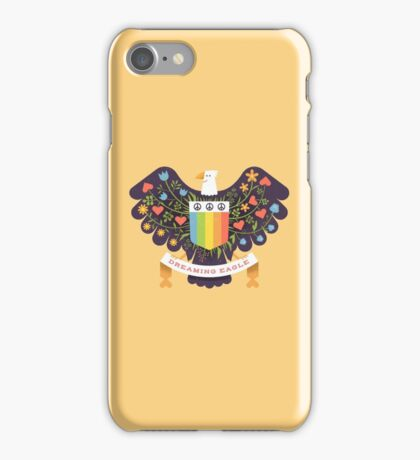 Dreaming (not Screaming) Eagle iPhone Case/Skin