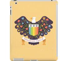 Dreaming (not Screaming) Eagle iPad Case/Skin