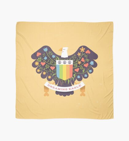 Dreaming (not Screaming) Eagle Foulard