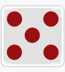 rebel alliance: general rank badge Sticker