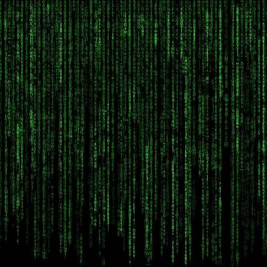 """Matrix Code Pattern"" Posters by ODDTV | Redbubble"