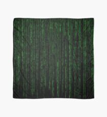 Matrix Code Pattern Scarf