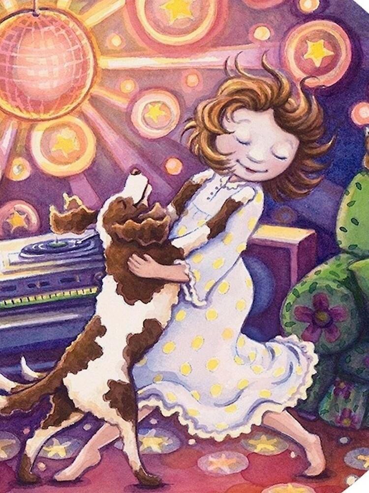 Dina Disco Hund von artfulu