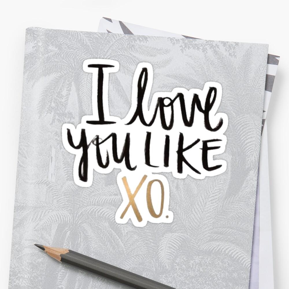 Love You Like XO | Fashion Me Now