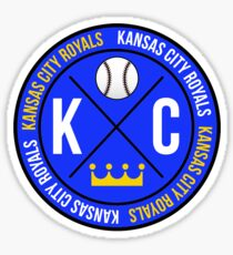 KC ROYALS CIRCLE Sticker