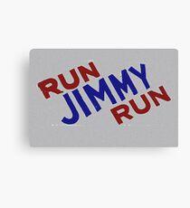 Run Jimmy Run Canvas Print