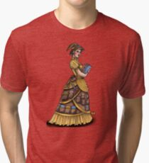 Library Witch by Bobbie Berendson W Tri-blend T-Shirt