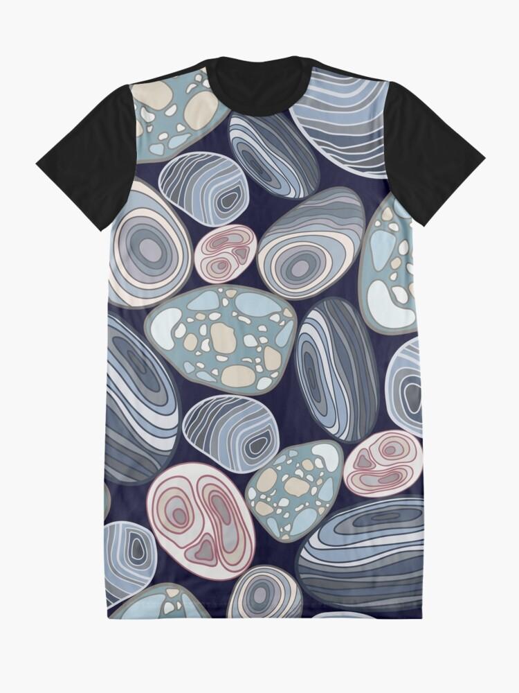 Alternative Ansicht von Mustersteine T-Shirt Kleid