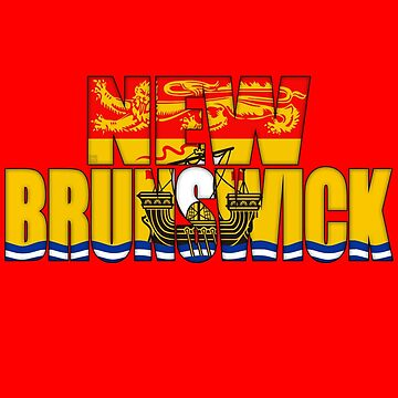 New Brunswick Flag  by MikePrittie
