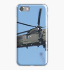 Royal Navy Helicopter. iPhone Case/Skin