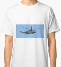 Royal Navy Helicopter. Classic T-Shirt