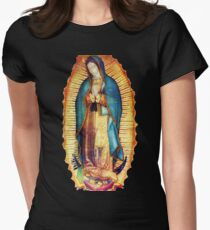 Our Lady of Guadalupe Virgin Mary Tilma Women's Fitted T-Shirt