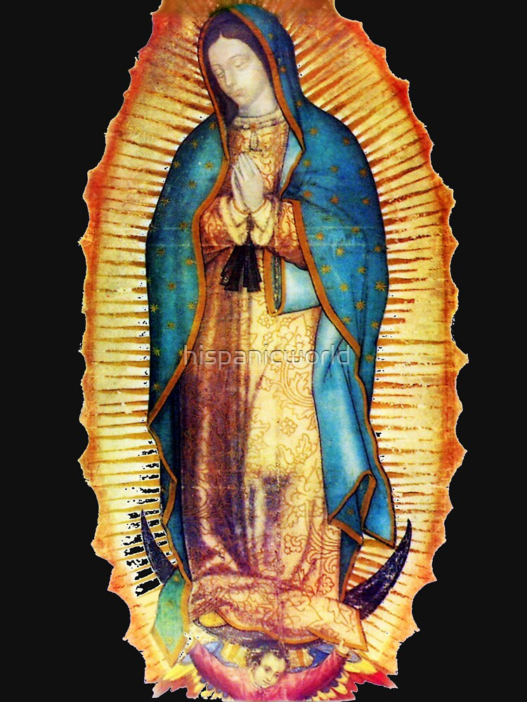 Our Lady of Guadalupe Virgin Mary Tilma by hispanicworld